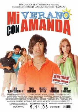 Mi verano con Amanda - 27 x 40 Movie Poster - Spanish Style A