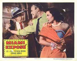 Miami Expose - 11 x 14 Movie Poster - Style D