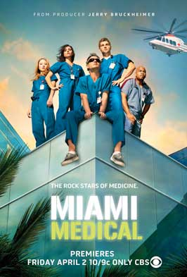 Miami Medical (TV) - 11 x 17 TV Poster - Style A