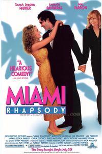 Miami Rhapsody - 11 x 17 Movie Poster - Style B