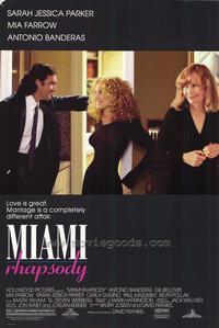 Miami Rhapsody - 27 x 40 Movie Poster - Style A
