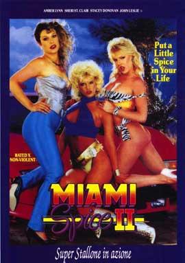 Miami Spice 2 - 11 x 17 Movie Poster - Italian Style A