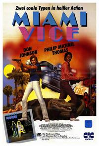 Miami Vice (TV) - 27 x 40 TV Poster - Style A