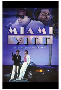 Miami Vice (TV) - 27 x 40 TV Poster - Style B