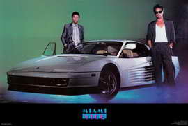 Miami Vice (TV) - 27 x 40 TV Poster - Style C