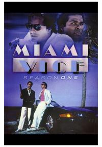 Miami Vice (TV) - 43 x 62 TV Poster - Style B