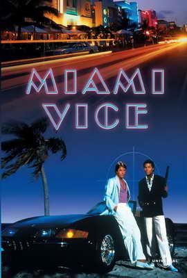 Miami Vice (TV) - 27 x 40 TV Poster - Style F