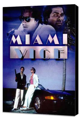 Miami Vice (TV) - 11 x 17 TV Poster - Style I - Museum Wrapped Canvas