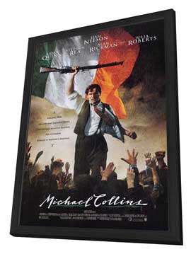 Michael Collins - 27 x 40 Movie Poster - Style A - in Deluxe Wood Frame