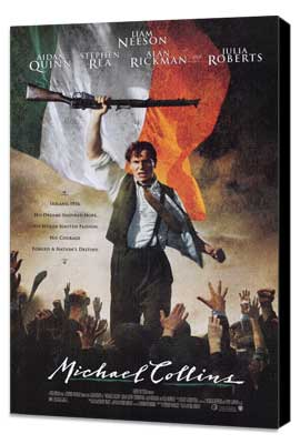 Michael Collins - 27 x 40 Movie Poster - Style A - Museum Wrapped Canvas
