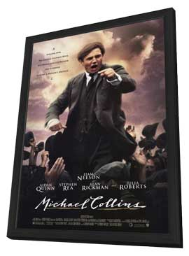 Michael Collins - 11 x 17 Movie Poster - Style A - in Deluxe Wood Frame
