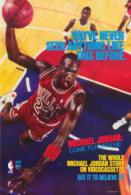 Michael Jordan: Come Fly with Me - 27 x 40 Movie Poster - Style A