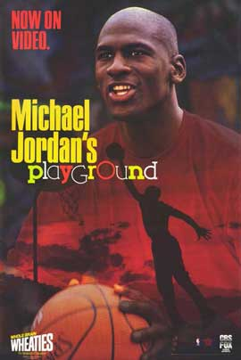 Michael Jordan's Playground - 11 x 17 Movie Poster - Style A