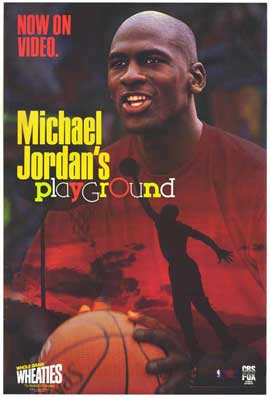 Michael Jordan's Playground - 27 x 40 Movie Poster - Style A
