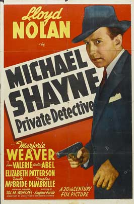 Michael Shayne: Private Detective - 11 x 17 Movie Poster - Style A