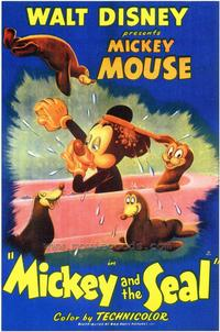 Mickey and the Seal - 43 x 62 Movie Poster - Bus Shelter Style A