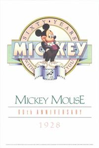 Mickey Mouse 60th Anniversary Gallery - 27 x 40 Movie Poster - Style A