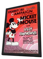 Mickey Mouse and Silly Symphonies - 11 x 17 Movie Poster - Style A - in Deluxe Wood Frame