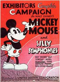 Mickey Mouse and Silly Symphonies - 11 x 17 Movie Poster - Style A
