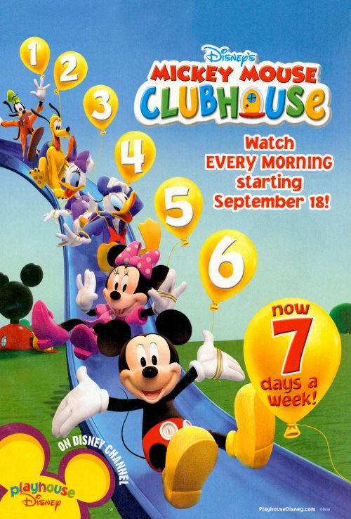 mickey mouse clubhouse tv movie posters from movie