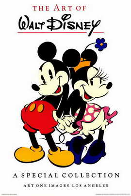 Mickey Mouse Commercial Gallery - 24 x 36 Movie Poster - Style A