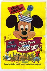 Mickey Mouse Happy Birthday Show - 27 x 40 Movie Poster - Style A