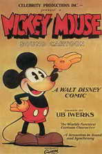 Mickey Mouse - 11 x 17 Movie Poster - Style B