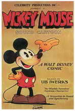 Mickey Mouse - 27 x 40 Movie Poster - Style B