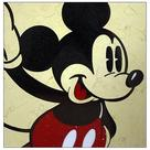 Mickey Mouse - Classic Mickey Yellow Dots Stone Artwork