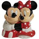 Mickey Mouse - Disney Mickey and Minnie Mouse Hugging Cookie Jar