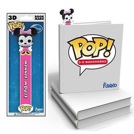 Mickey Mouse - Minnie Mouse Disney Pop! Vinyl Figure 3-D Bookmark