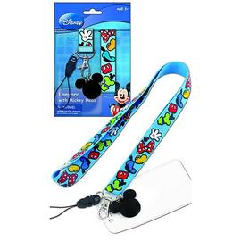 Mickey Mouse - and Gang Lanyard