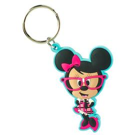 Mickey Mouse - Minnie Mouse Disney Nerds Soft Touch Key Chain