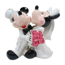 Mickey Mouse - Mickey and Minnie Mouse's Wedding Salt and Pepper Shakers