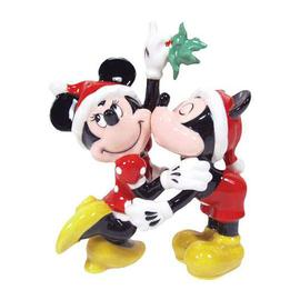 Mickey Mouse - Mickey and Minnie Mouse Mistletoe Salt and Pepper Shakers