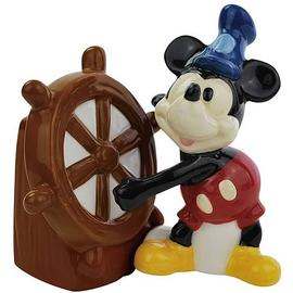 Mickey Mouse - Steamboat Willie Salt and Pepper Shakers