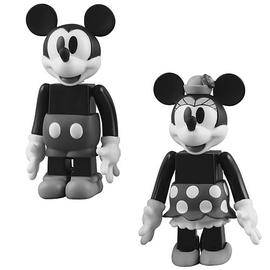 Mickey Mouse - and  Minnie Mouse Kubrick 2-Pack