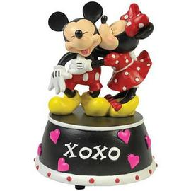 Mickey Mouse - Disney Mickey and Minnie Mouse XOXO Mini Statue