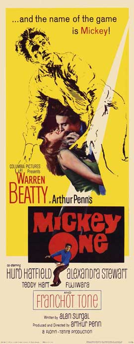 Mickey One - 14 x 36 Movie Poster - Insert Style A