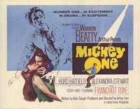 Mickey One - 22 x 28 Movie Poster - Half Sheet Style A