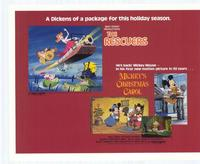 Mickey's Christmas Carol /Rescuers - 11 x 14 Movie Poster - Style A