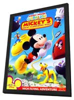 Mickey's Great Clubhouse Hunt - 27 x 40 Movie Poster - Style A - in Deluxe Wood Frame