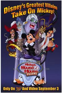 Mickey's House of Villains - 27 x 40 Movie Poster - Style A