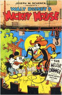 Mickey's Mellerdrammer - 43 x 62 Movie Poster - Bus Shelter Style A