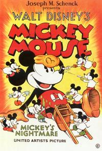 Mickey's Nightmare - 27 x 40 Movie Poster - Style A