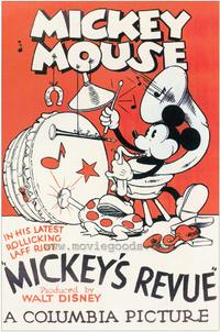 Mickey's Revue - 43 x 62 Movie Poster - Bus Shelter Style A