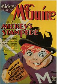 Mickey's Stampede - 11 x 17 Movie Poster - Style A
