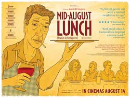 Mid-August Lunch - 11 x 17 Movie Poster - UK Style A