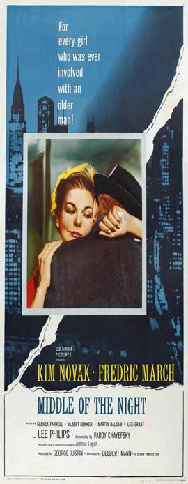 Middle of the Night - 14 x 36 Movie Poster - Insert Style A