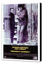 Midnight Cowboy - 27 x 40 Movie Poster - Style A - Museum Wrapped Canvas